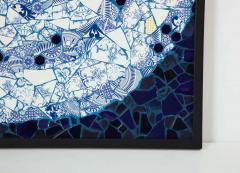 Mariana Lloyd One of a Kind Contemporary Spiral Mosaic 01 by Brazilian artist Mariana Lloyd - 1251960