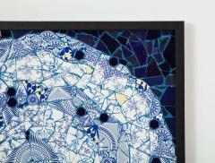 Mariana Lloyd One of a Kind Contemporary Spiral Mosaic 01 by Brazilian artist Mariana Lloyd - 1251961