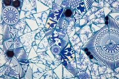 Mariana Lloyd One of a Kind Contemporary Spiral Mosaic 01 by Brazilian artist Mariana Lloyd - 1251965