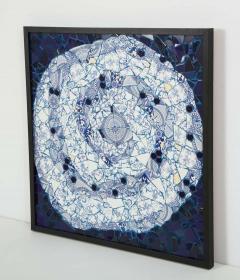 Mariana Lloyd One of a Kind Contemporary Spiral Mosaic 01 by Brazilian artist Mariana Lloyd - 1251968