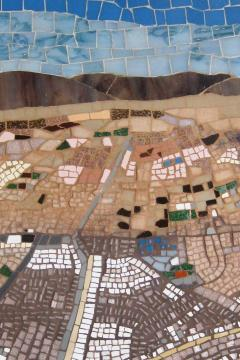 Mariana Lloyd One of a kind Contemporary Mosaic ML7048 by Brazilian Artist Mariana Lloyd 2020 - 2040153