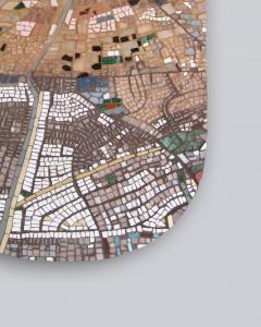 Mariana Lloyd One of a kind Contemporary Mosaic ML7048 by Brazilian Artist Mariana Lloyd 2020 - 2040156