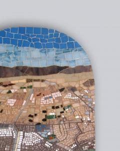 Mariana Lloyd One of a kind Contemporary Mosaic ML7048 by Brazilian Artist Mariana Lloyd 2020 - 2040157