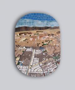 Mariana Lloyd One of a kind Contemporary Mosaic ML7048 by Brazilian Artist Mariana Lloyd 2020 - 2040159