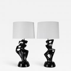 Marianna Von Allesch Pair of Table Lamps by Marianna von Allesch circa 1950s - 647528