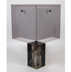 Marie Claude Fouquieres Table Lamp resin Fractal by Marie Claude de Fouquieres - 772269
