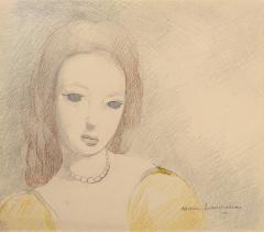 Marie Laurencin Jeune Femme en Robe Jaune - 1190815