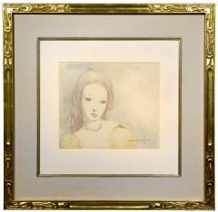 Marie Laurencin Jeune Femme en Robe Jaune - 1190816