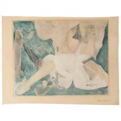Marie Laurencin La femme au hamac Jacques Villon after Marie Laurencin Aquatint on Paper 1924 - 1099895