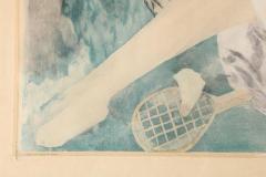 Marie Laurencin La femme au hamac Jacques Villon after Marie Laurencin Aquatint on Paper 1924 - 1099897