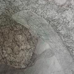 Marie Pierre Biau SANS TITRE 76 X 58 Contemporary drawing - 1906265