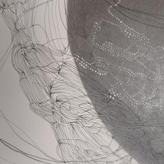 Marie Pierre Biau SANS TITRE 76 X 58 Contemporary drawing - 1906312