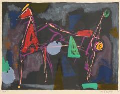Marino Marini Marino Marini Untitled From Color to Form Series 1969 - 2010086