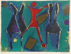 Marino Marini Marino Marini Untitled From Color to Form Series 1969 - 2010087