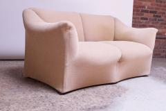 Mario Bellini 1970s Tentazione Loveseat Two Seat Sofa by Mario Bellini for Cassina - 1458375