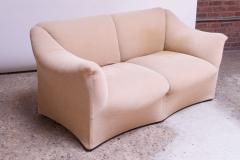 Mario Bellini 1970s Tentazione Loveseat Two Seat Sofa by Mario Bellini for Cassina - 1458376