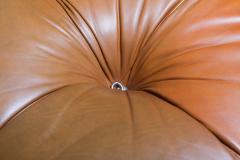 Mario Bellini Camaleonda in original cognac leather 1970s - 1638236
