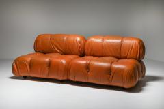 Mario Bellini Camaleonda in original cognac leather 1970s - 1638238