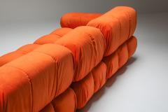 Mario Bellini Camaleonda sectional sofa in bright orange 1970s - 1395211