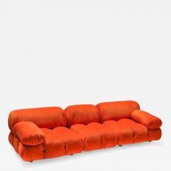Mario Bellini Camaleonda sectional sofa in bright orange 1970s - 1395746