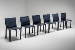 Mario Bellini Cassina Blue CAB Chairs 1970s - 1566240