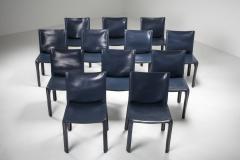 Mario Bellini Cassina Blue CAB Chairs 1970s - 1566246