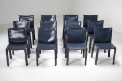 Mario Bellini Cassina Blue CAB Chairs 1970s - 1566248