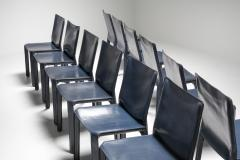 Mario Bellini Cassina Blue CAB Chairs 1970s - 1566249