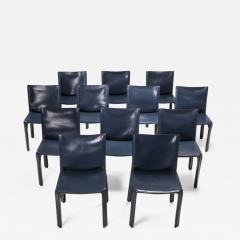 Mario Bellini Cassina Blue CAB Chairs 1970s - 1568919