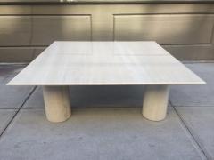 Mario Bellini Large Mario Bellini Italian Marble Coffee Table - 433322