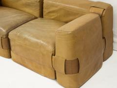 Mario Bellini Leather Sofa by Mario Bellini circa 1970 - 954195