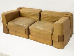 Mario Bellini Leather Sofa by Mario Bellini circa 1970 - 954198