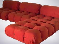 Mario Bellini Mario Bellini B B Italia Camaleonda Sofa Set in Orange Upholstery 1970 - 940194