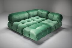 Mario Bellini Mario Bellini Camaleonda in Pierre Frey Velvet Green Upholstery 1970s - 1566332