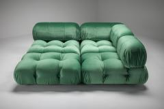 Mario Bellini Mario Bellini Camaleonda in Pierre Frey Velvet Green Upholstery 1970s - 1566334