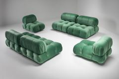 Mario Bellini Mario Bellini Camaleonda in Pierre Frey Velvet Green Upholstery 1970s - 1566337