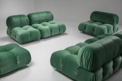 Mario Bellini Mario Bellini Camaleonda in Pierre Frey Velvet Green Upholstery 1970s - 1566338