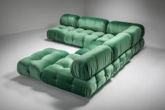 Mario Bellini Mario Bellini Camaleonda in Pierre Frey Velvet Green Upholstery 1970s - 1566341