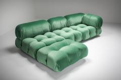 Mario Bellini Mario Bellini Camaleonda in Pierre Frey Velvet Green Upholstery 1970s - 1566342