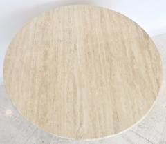 Mario Bellini Mario Bellini Italian Travertine Il Colonnato Dining Table for Cassina - 1172632