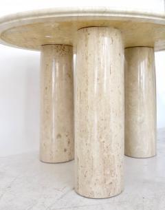 Mario Bellini Mario Bellini Italian Travertine Il Colonnato Dining Table for Cassina - 1172639
