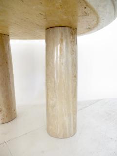 Mario Bellini Mario Bellini Italian Travertine Il Colonnato Dining Table for Cassina - 1175397