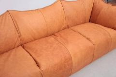 Mario Bellini Mario Bellini Le Bambole Three Seat in Light Tan Leather by B B Italia - 977807