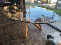 Mario Bellini Mario Bellini Oval Dining Table for Cassina 1977  - 1199816