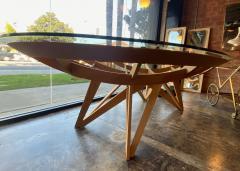 Mario Bellini Mario Bellini Oval Dining Table for Cassina 1977  - 1199823
