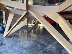 Mario Bellini Mario Bellini Oval Dining Table for Cassina 1977  - 1199824