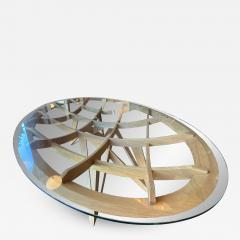 Mario Bellini Mario Bellini Oval Dining Table for Cassina 1977  - 1201201