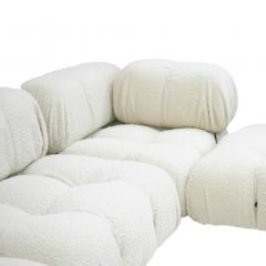 Mario Bellini Mario Bellini for B B Italia Camaleonda White Boucl Fabric Modular Sofa - 2077885