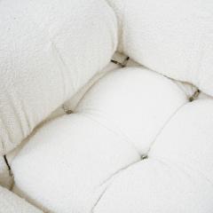 Mario Bellini Mario Bellini for B B Italia Camaleonda White Boucl Fabric Modular Sofa - 2077887