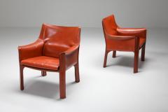 Mario Bellini Mario Bellinis CAB armchair 414 1980s - 1468367